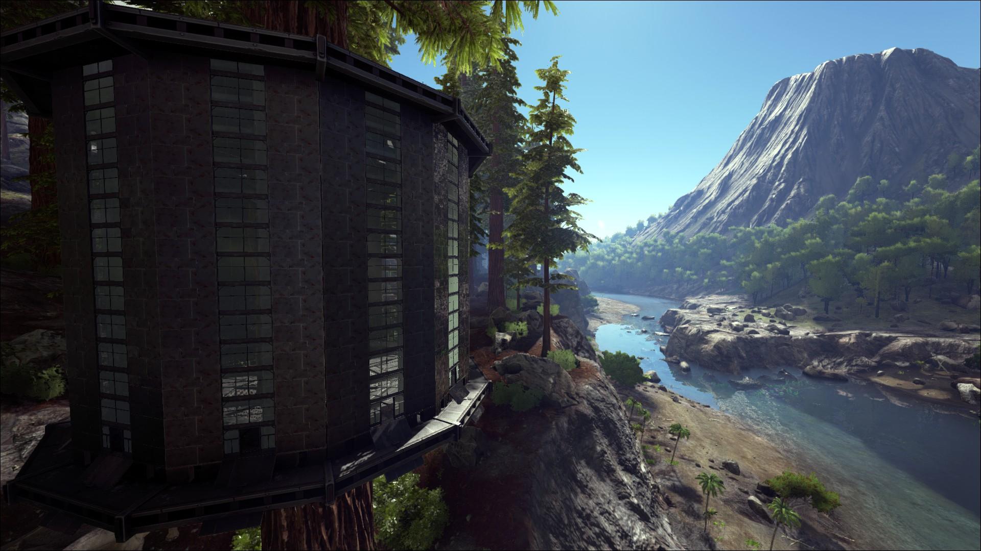 Das Baumhaus In Ark ...