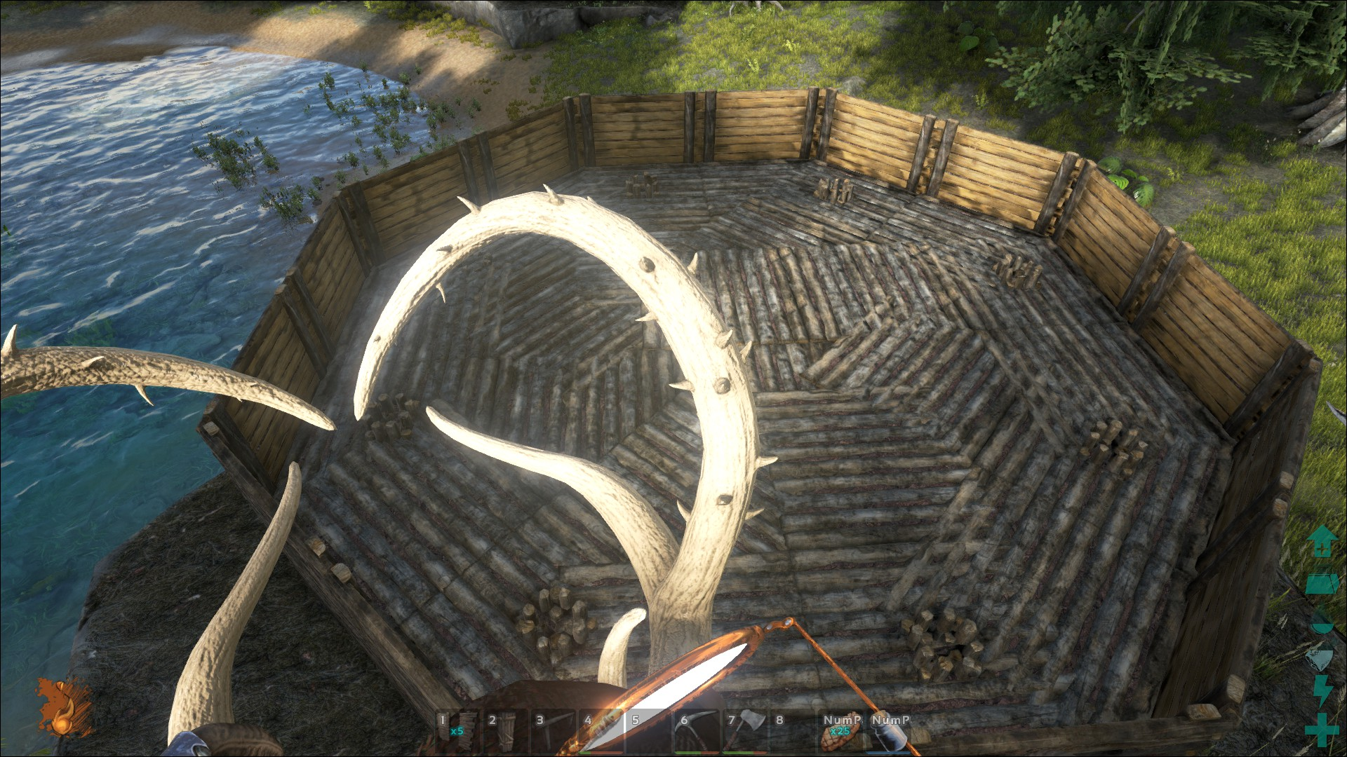 Schöner Wohnen in Ark - Crafting/Bauen - Ark Survival Evolved Forum ...