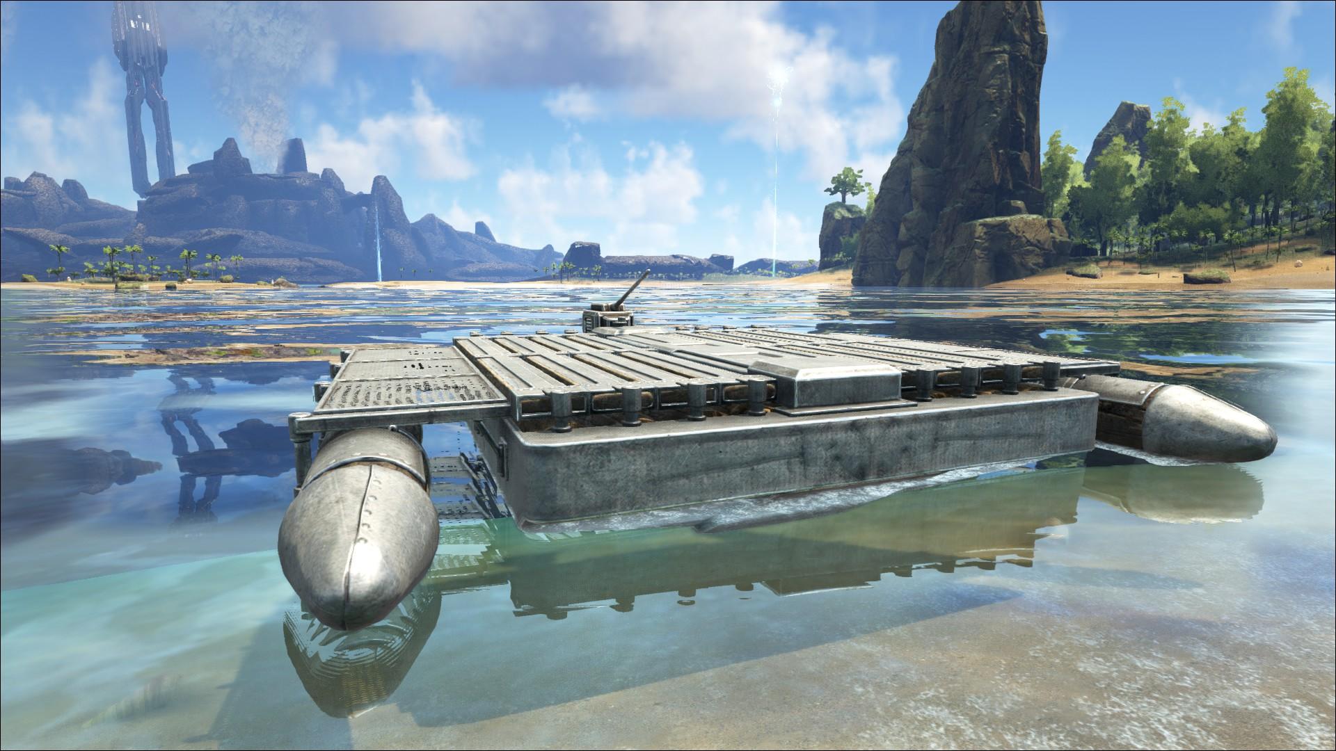 Motorboat (Motorboot) - Wiki - Ark Survival Evolved Forum
