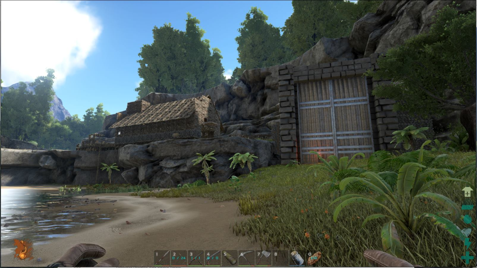 Schoner Wohnen In Ark Crafting Bauen Ark Survival Evolved