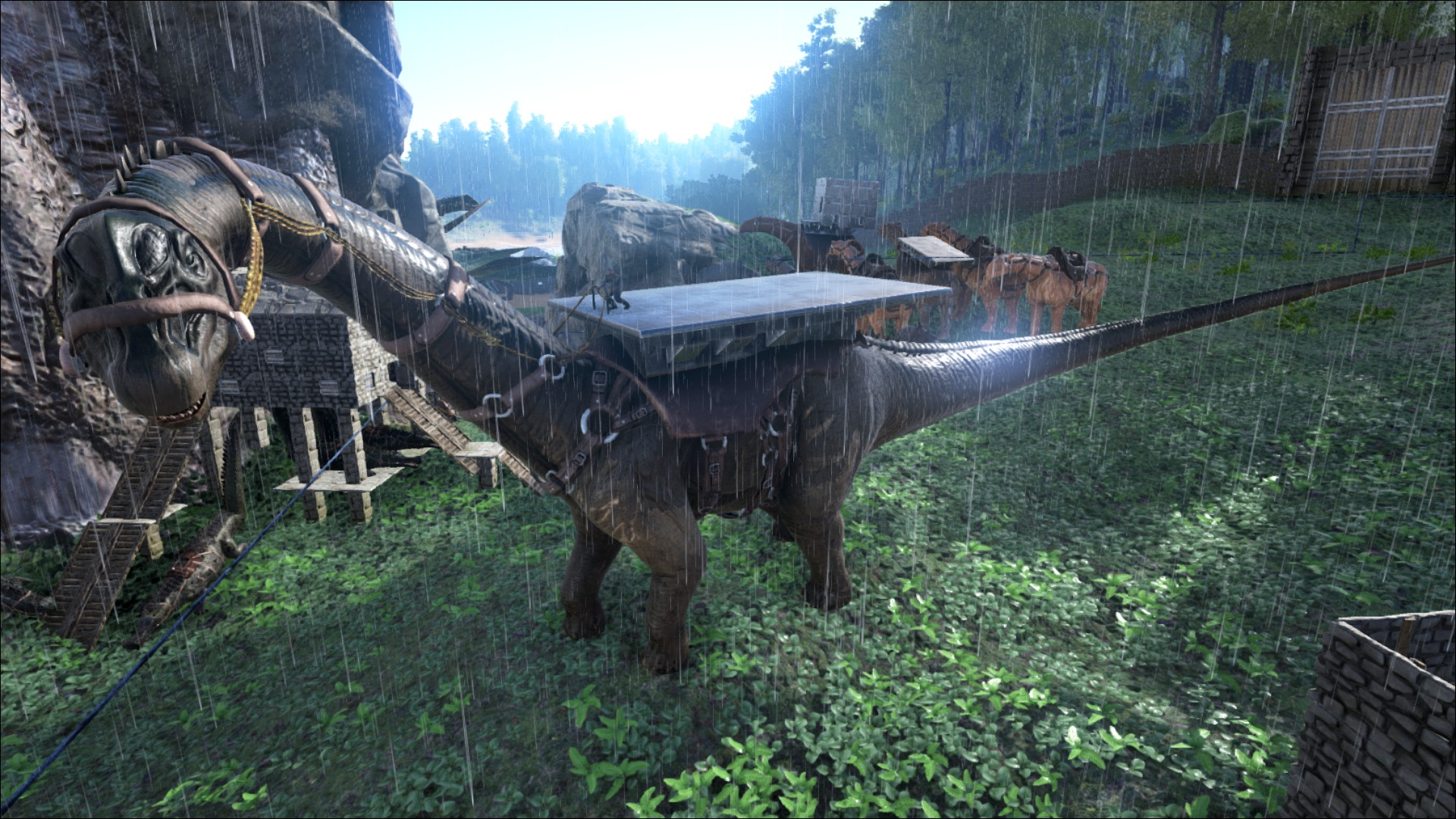 bronto platform saddle bronto sattelplattform wiki ark