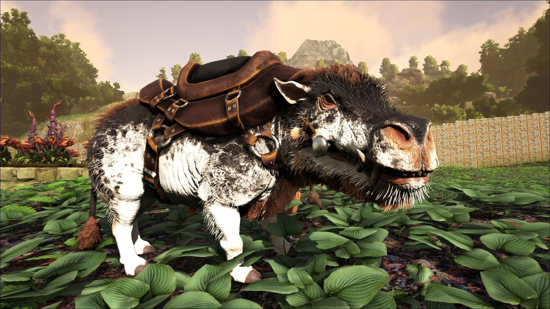 Daeodon Saddle (Daeodon Sattel) - Wiki - Ark Survival