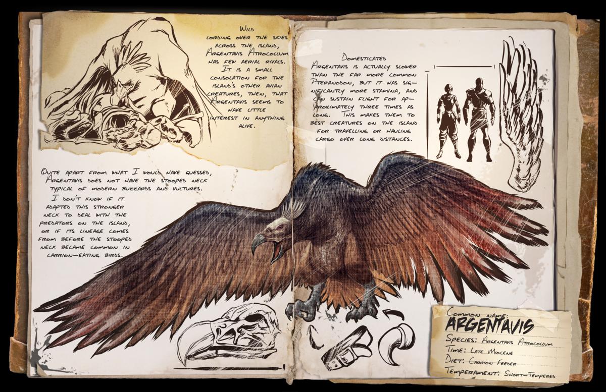 Argentavis (Adler) - Wiki - Ark Survival Evolved Forum und