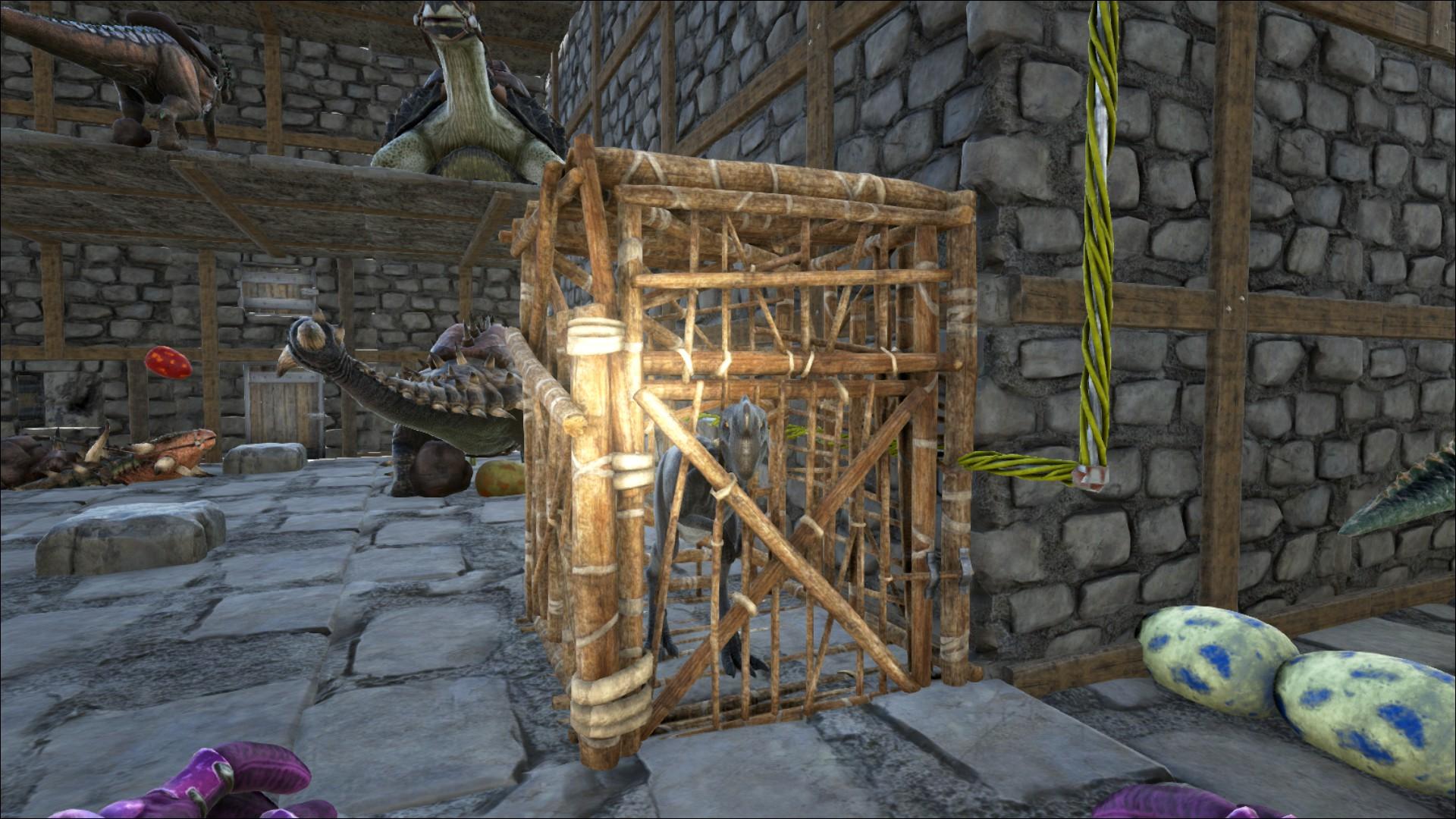 Wooden Cage Holzkäfig Wiki Ark Survival Evolved Forum Und