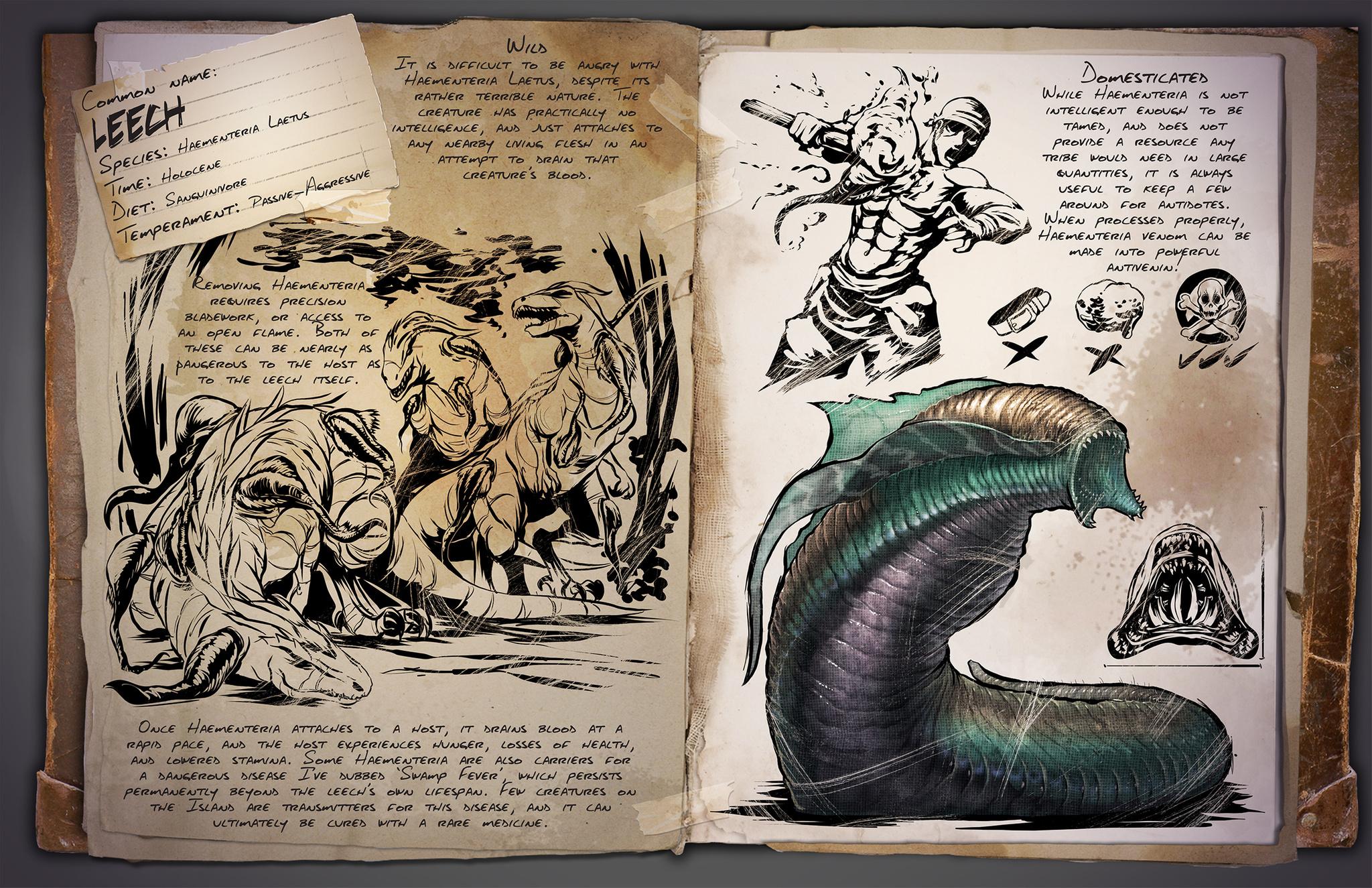 Leech (Blutegel) - Wiki - Ark Survival Evolved Forum und Community