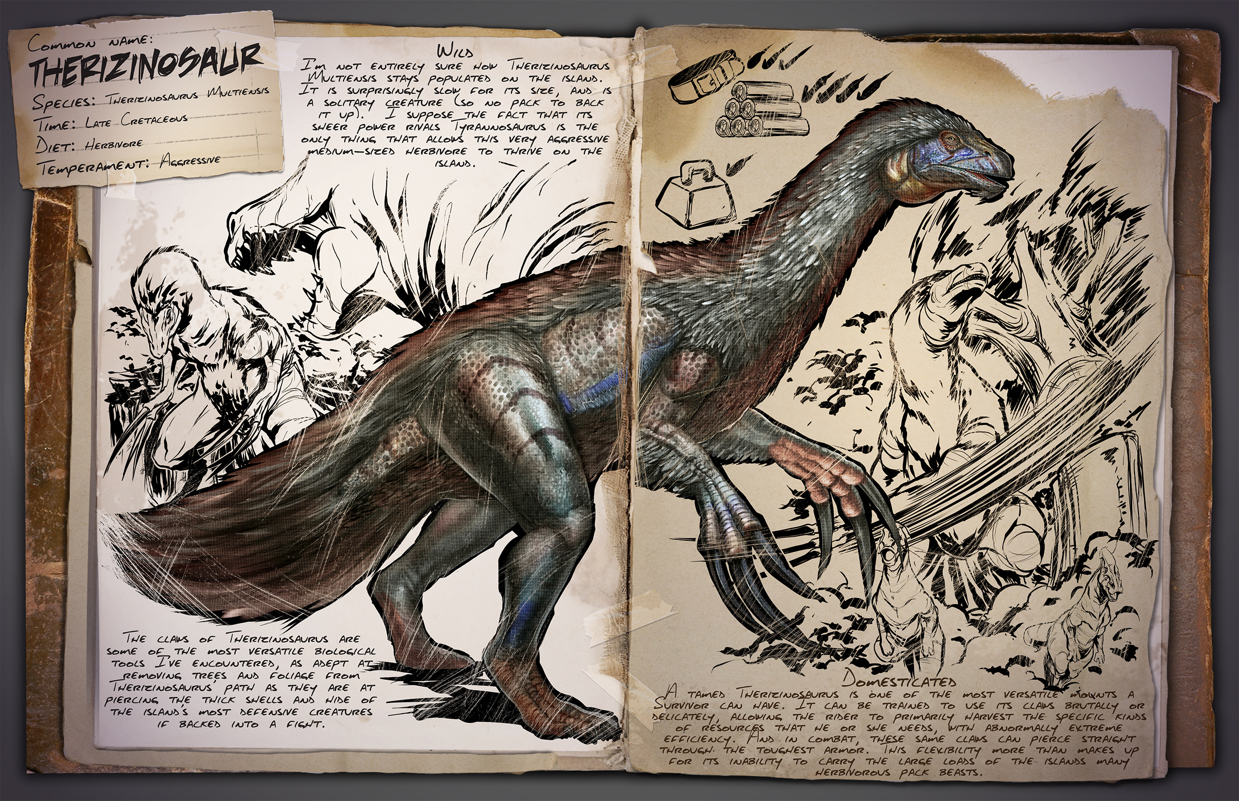Therizinosaurus - Wiki - Ark Survival Evolved Forum und Community