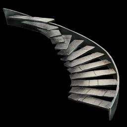 metal staircase metallerne wendeltreppe lexicon ark. Black Bedroom Furniture Sets. Home Design Ideas