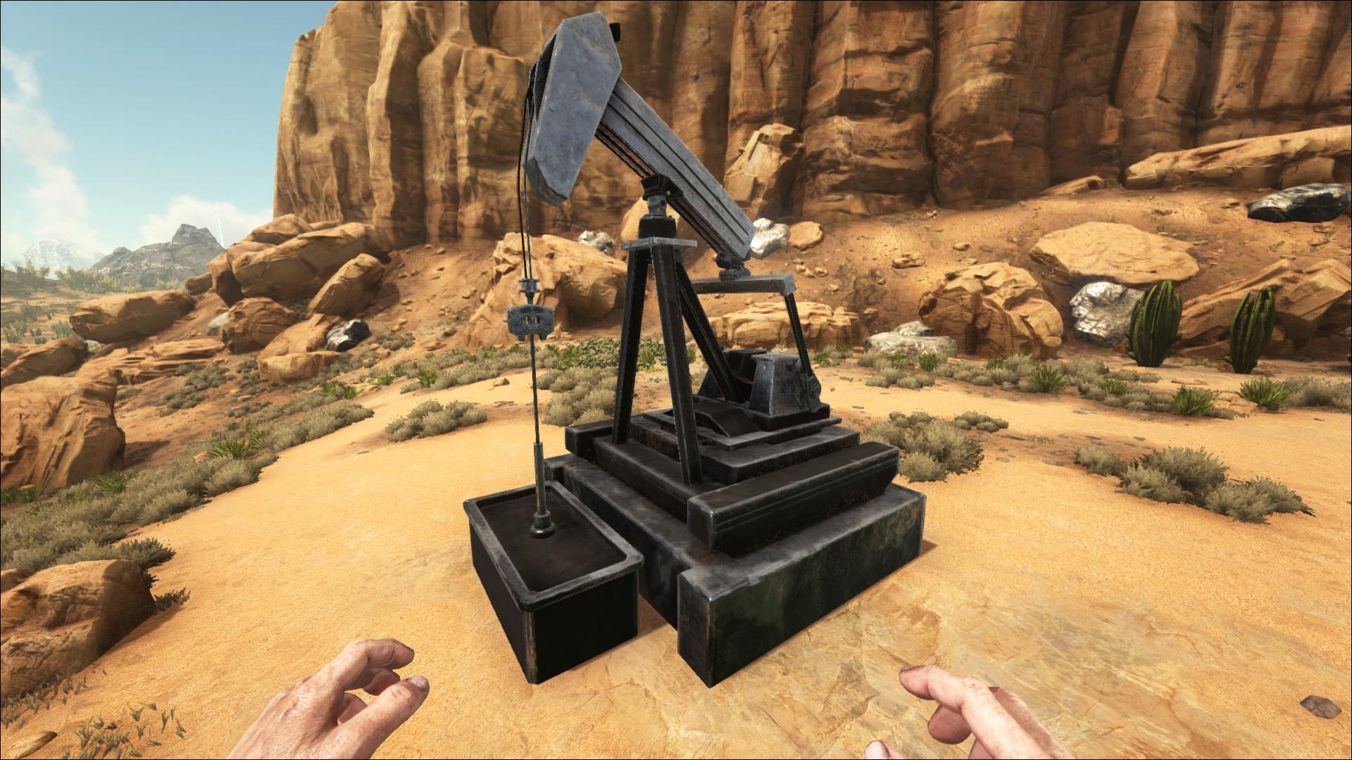 Can I use an oil pump on the Island? : playark
