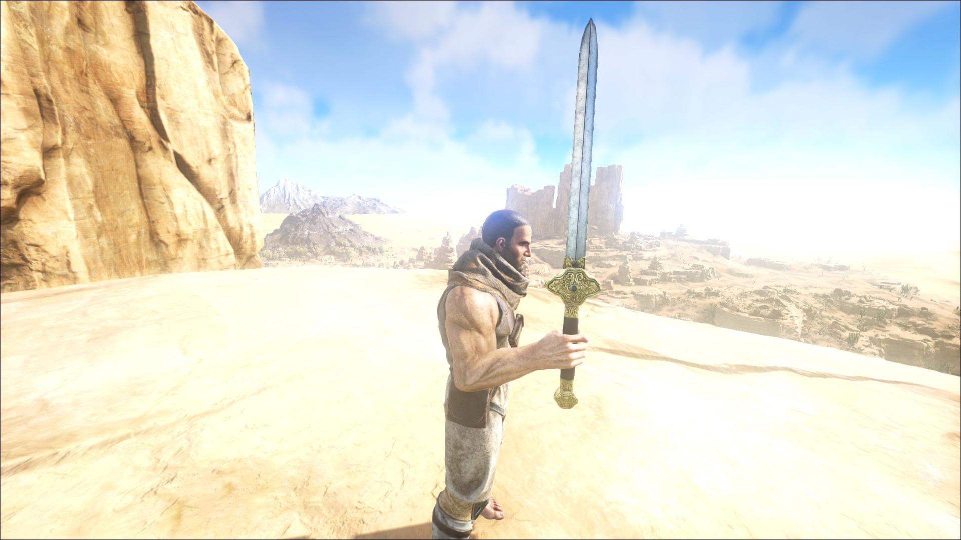 Scorched Sword Skin (Verbranntes Schwert Skin) (Scorched Earth
