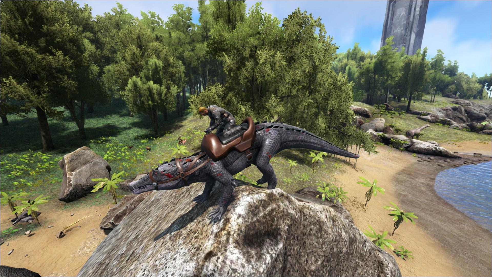Kaprosuchus Kleines Krokodil Wiki Ark Survival Evolved Forum