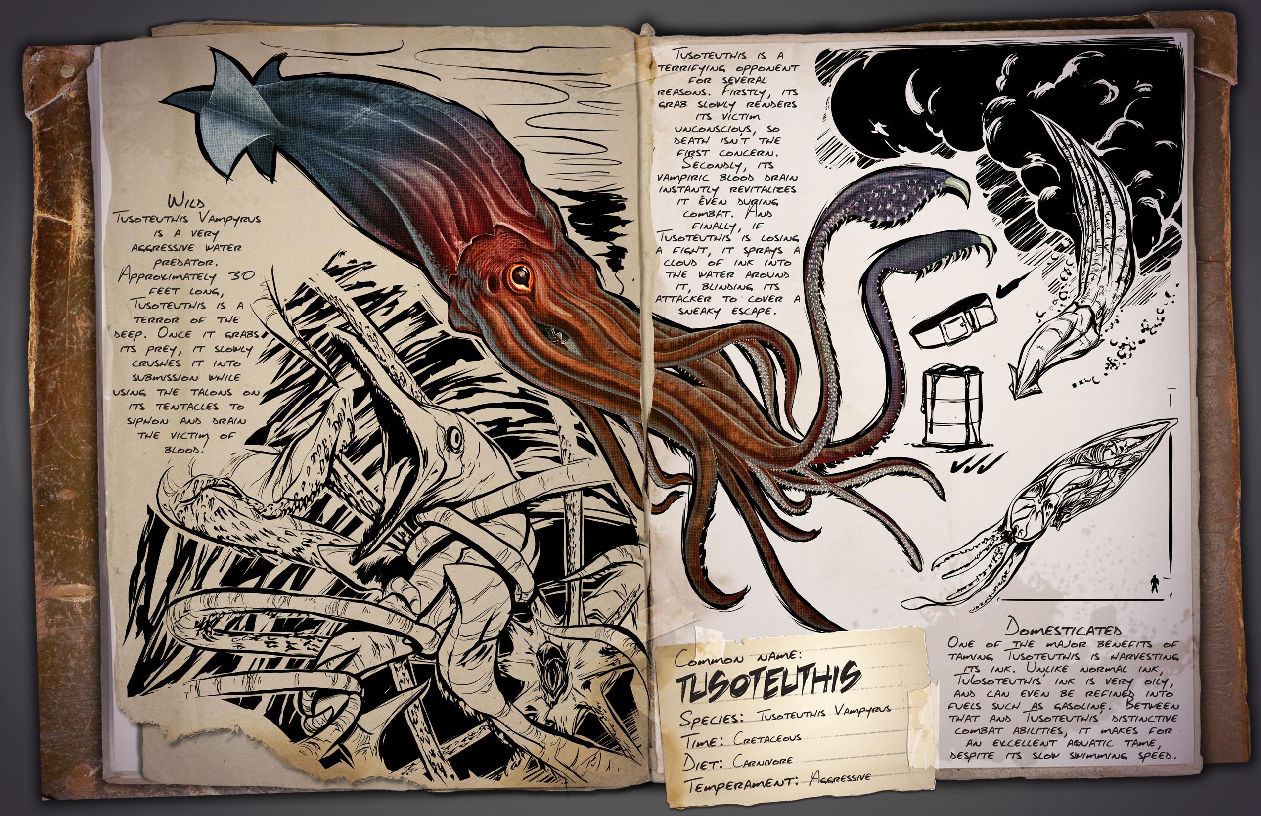 Tusoteuthis kraken wiki ark survival evolved forum und 37581 mal gelesen malvernweather Gallery