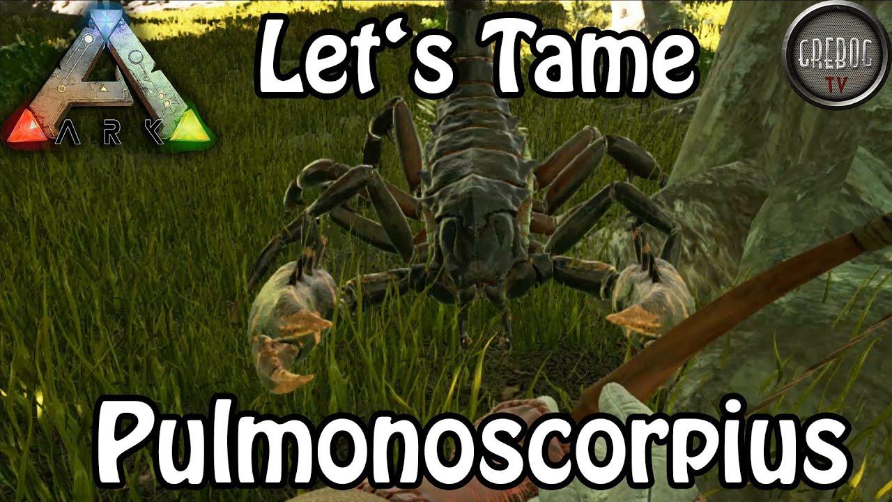 Ark: Survival Evolved - Let's Tame Pulmonoscorpius (deutsch)