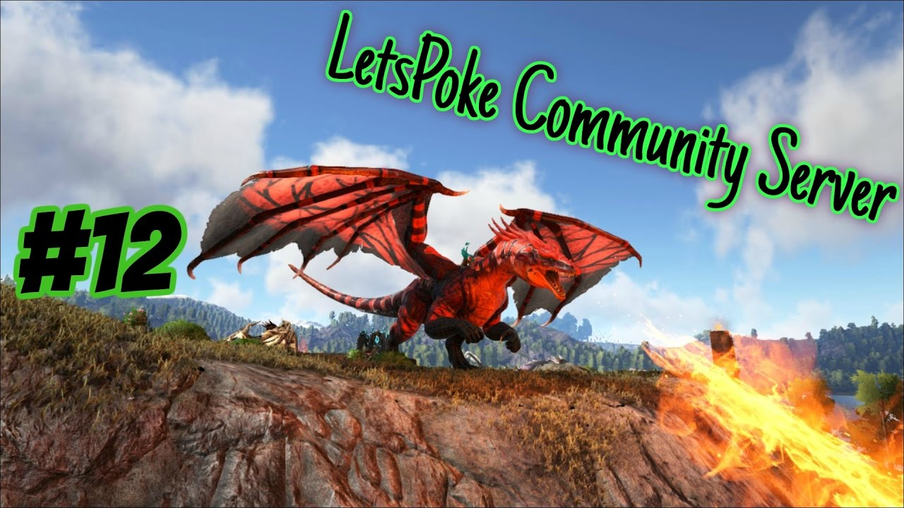 Ark Community Server #12 - Drachenjagt | Let's Play Ark Survival Evolved Deutsch
