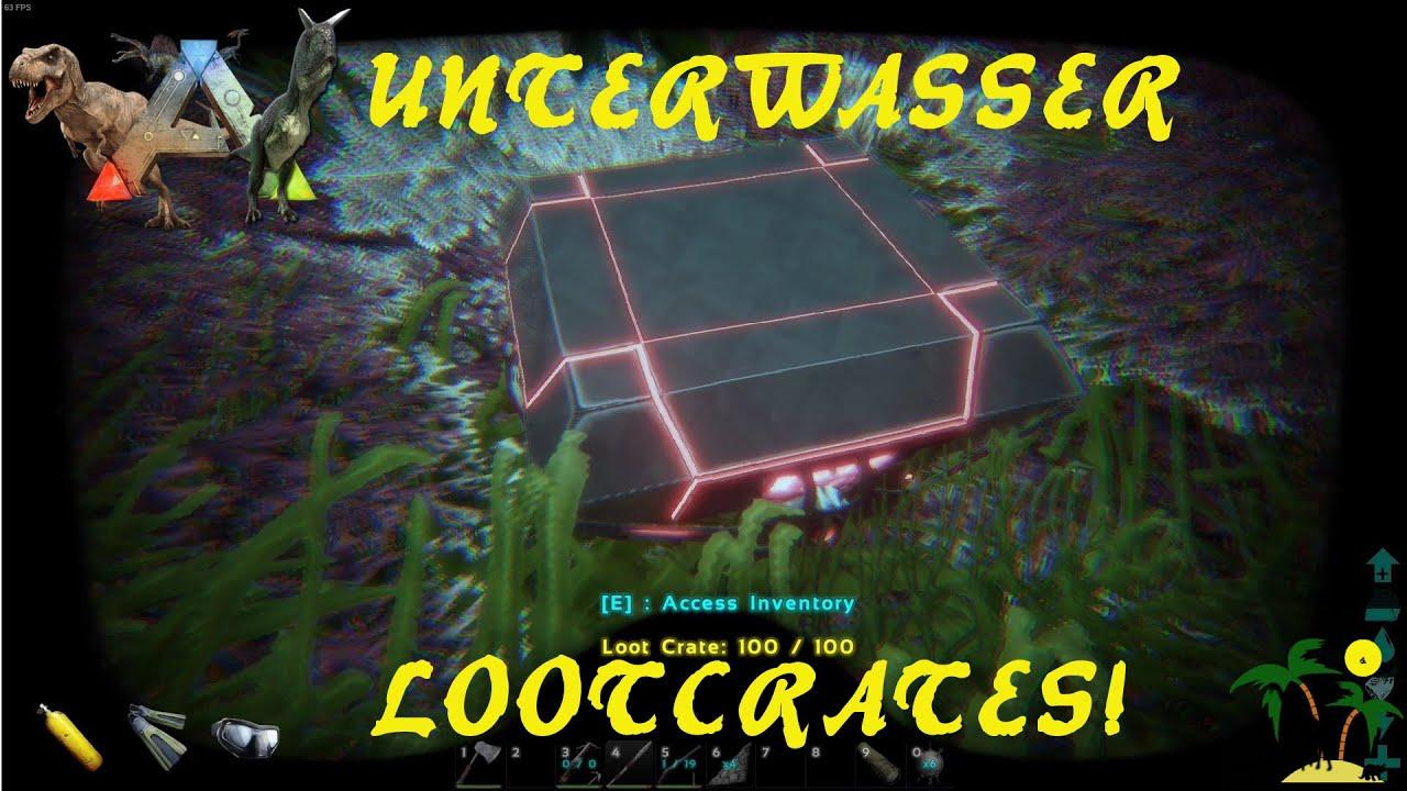 ARK: Survival Evolved Unterwasser Lootcrates wo findet man sie? - ein Tutorial