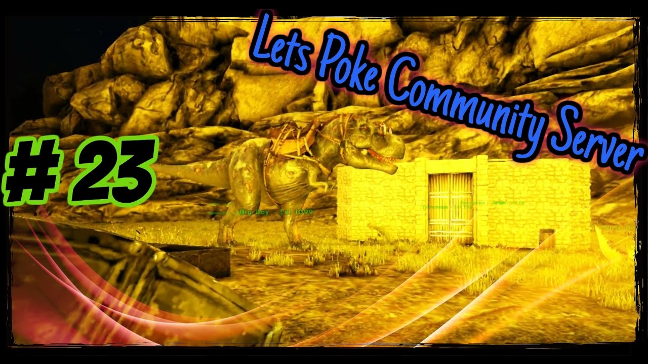Ark Community #23 - Rex aufs maul | Let's Play Ark Survival Evolved Deutsch Extinction