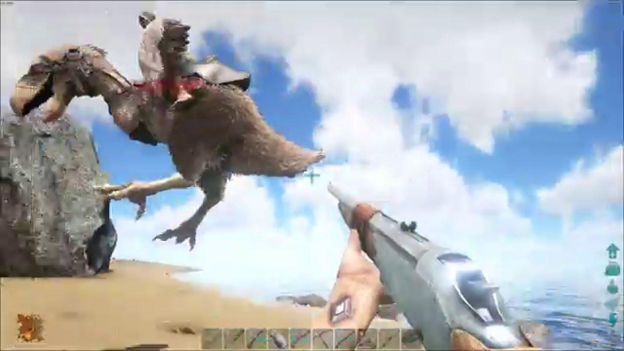 ARK:Survival Evolved Dirah's Ferienparadies Ep.11: Terror-Birds! Wenn Hennen rennen!