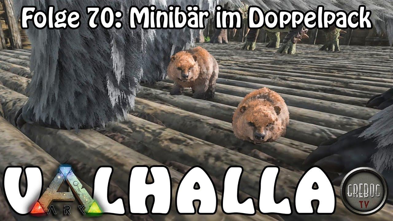 ARK SURVIVAL EVOLVED - VALHALLA Folge 70: Minibär im Doppelpack