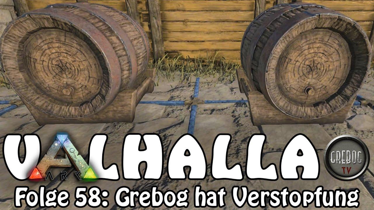 ARK SURVIVAL EVOLVED - VALHALLA Folge 58: Grebog hat Verstopfung