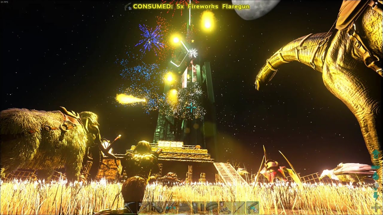 ARK:Survival Evolved Dirah's Ferienparadies Ep.8: Thank you Give-away!, Arena & Inselrundflug!