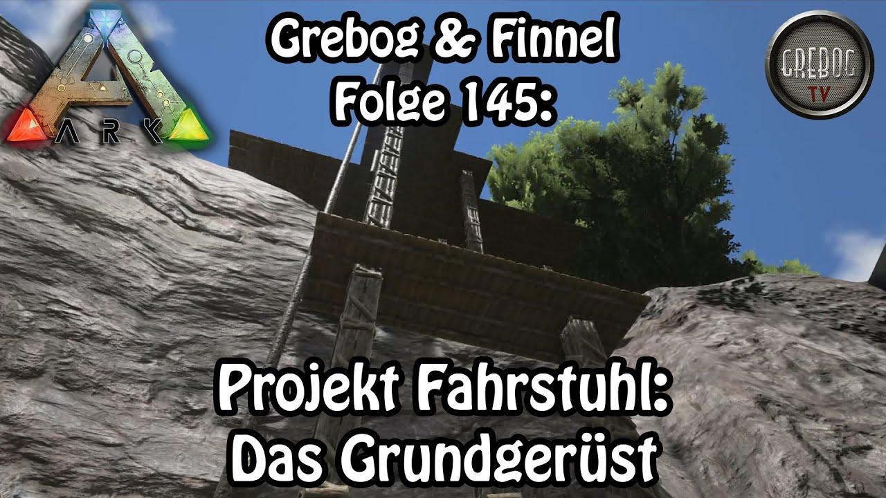 ARK SURVIVAL EVOLVED - Folge 145: Projekt Fahrstuhl - Das Grundgerüst