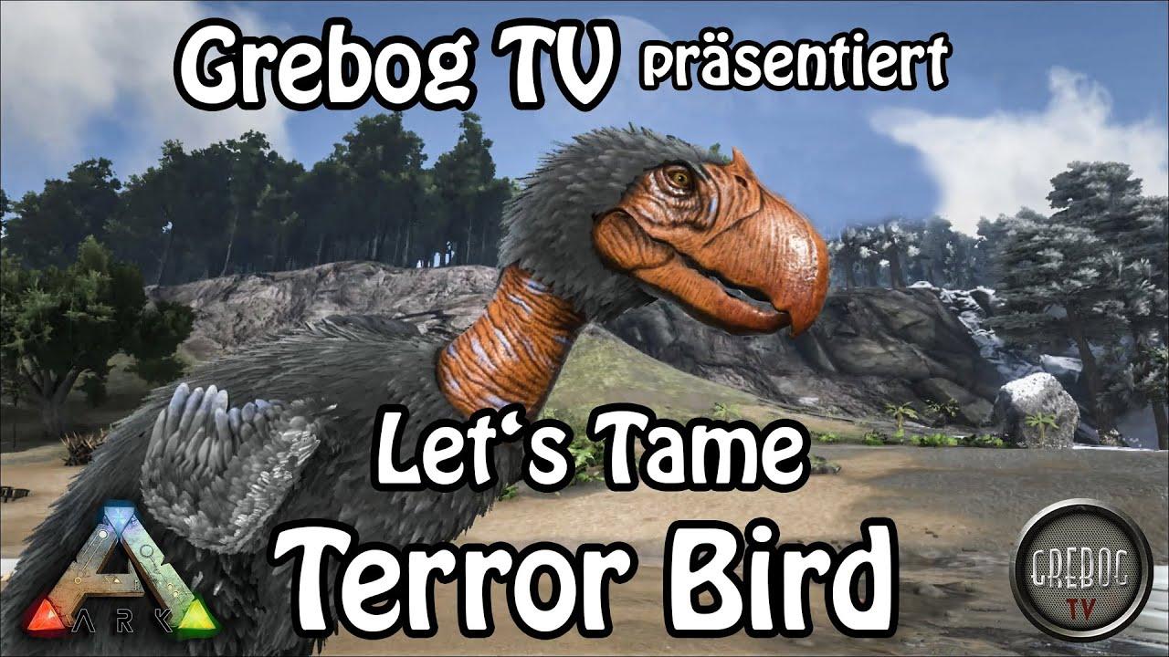 Ark Survival Evolved - Let's Tame: Terror Bird (deutsch)