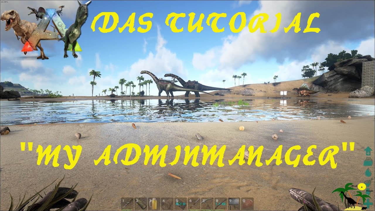 "ARK: Survival Evolved ""Adminmanager"" Tool - Ein Tutorial"