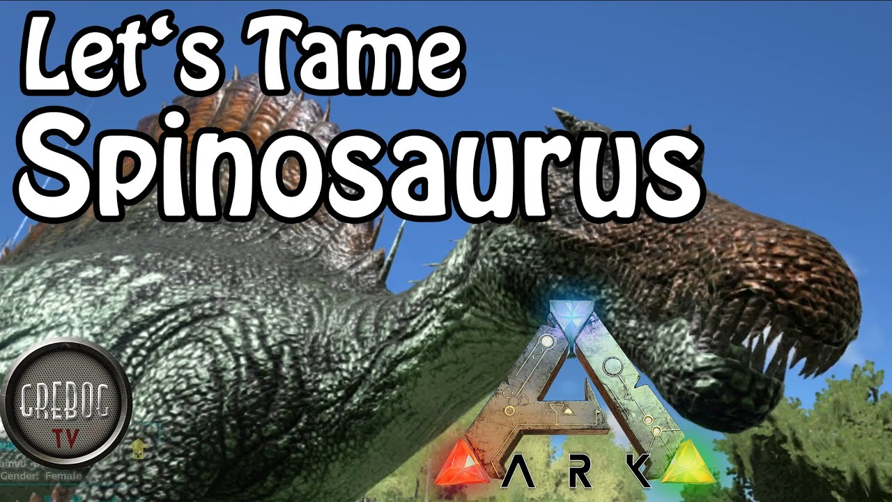 Ark: Survival Evolved - Let's Tame Spinosaurus (deutsch)