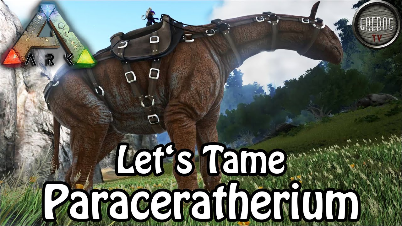 Ark: Survival Evolved - Let's Tame Paraceratherium (deutsch)