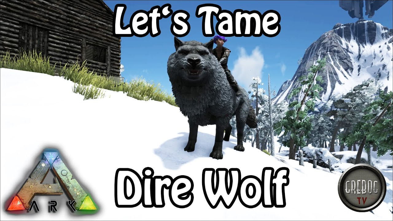 Ark: Survival Evolved - Let's Tame: Dire Wolf (deutsch)