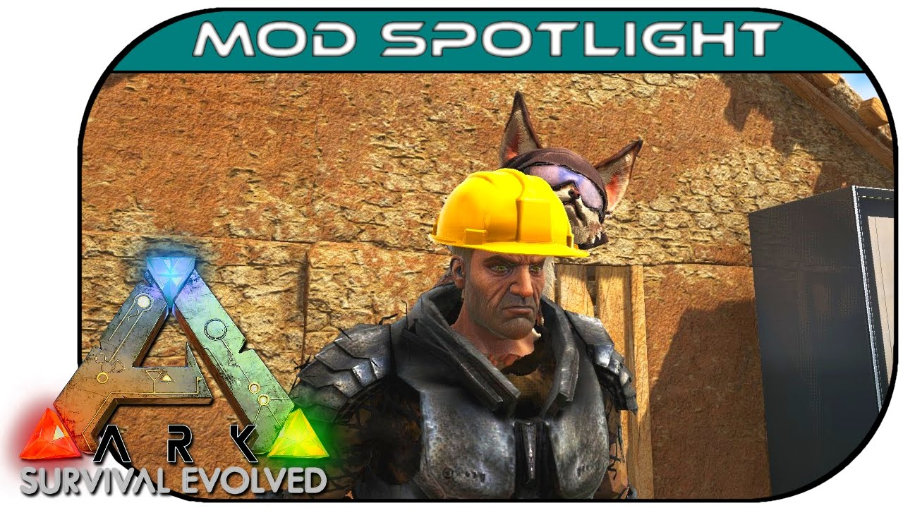 Ark: Survival Evolved :: Mod Spotlight :: Builder's Helmet!