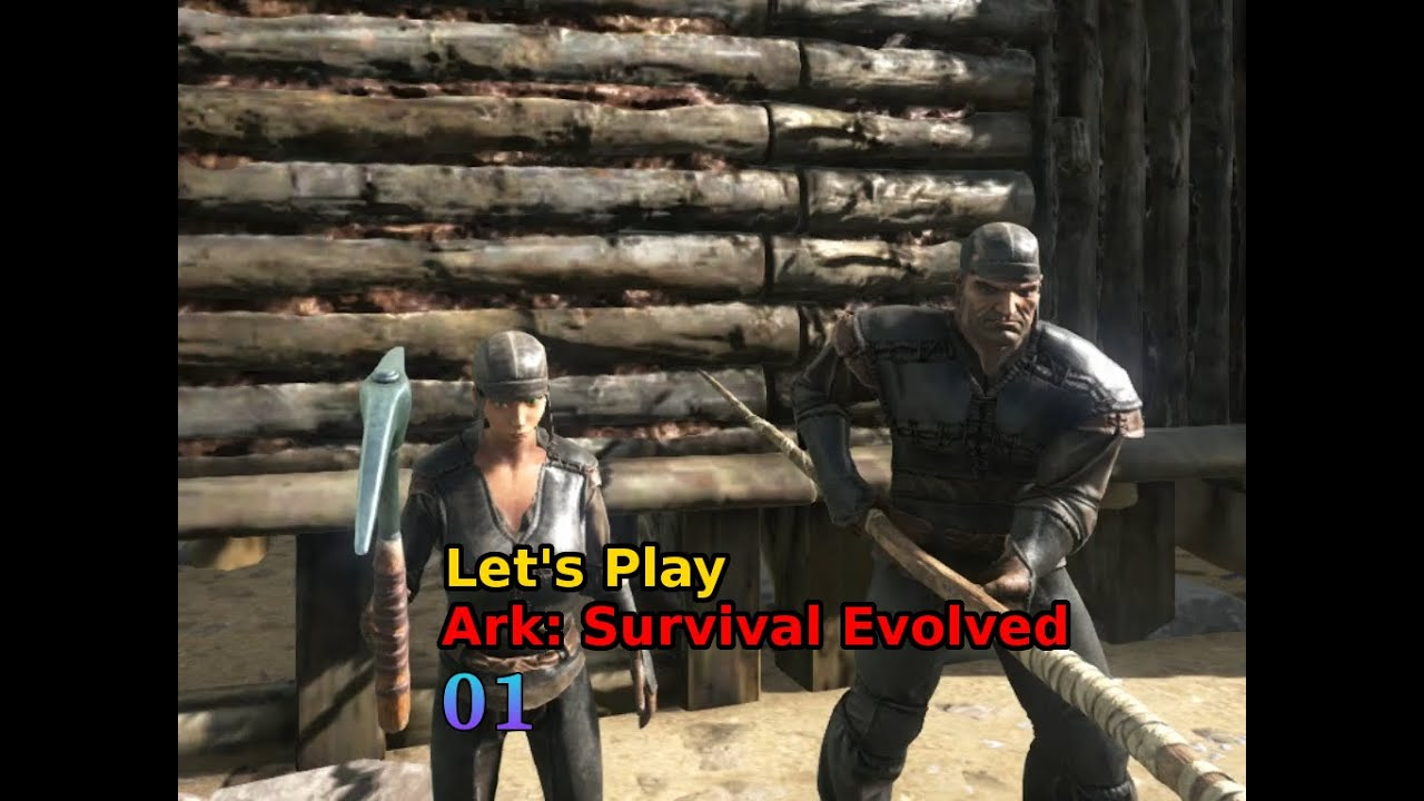 [001] Let's Play Ark: Survival Evolved - Die Reise beginnt | Zerkulex Gaming