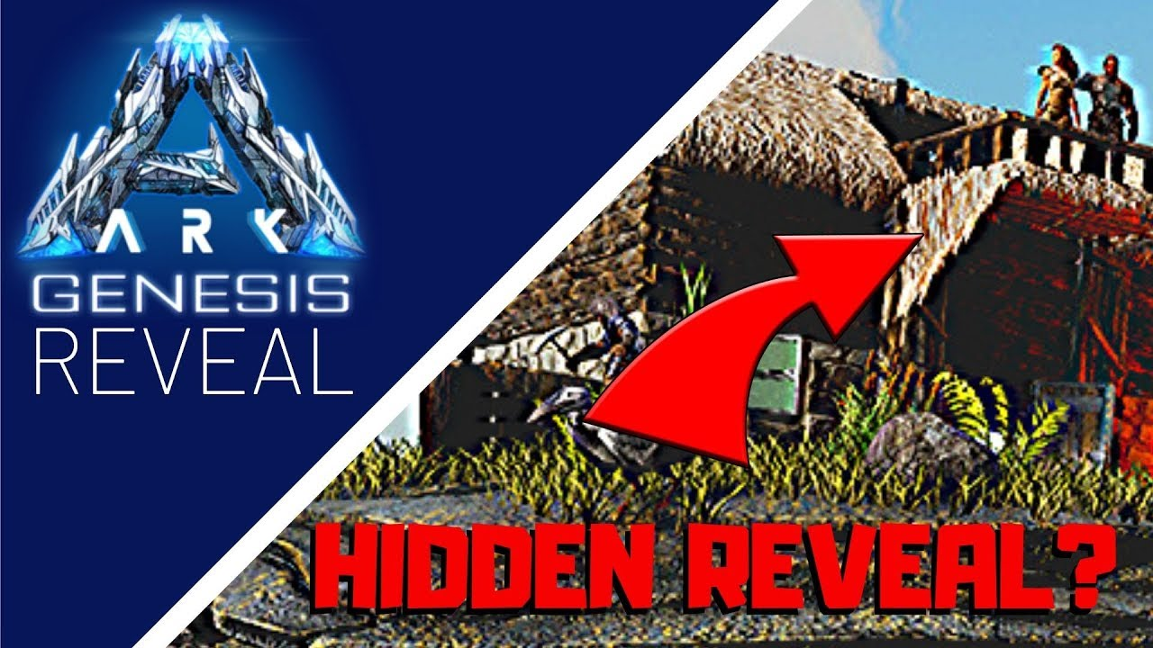 Ark Genesis: HIDDEN REVEAL - What everyone missed