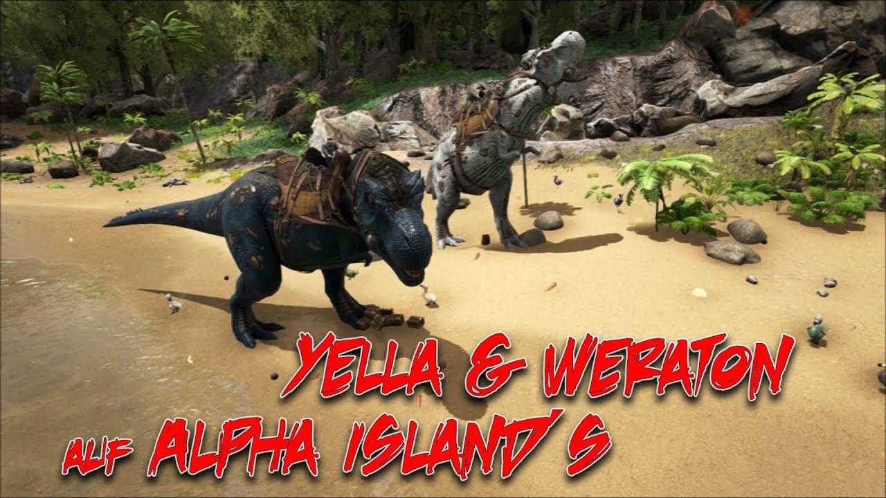 Yella & Weraton auf Alpha Island´s