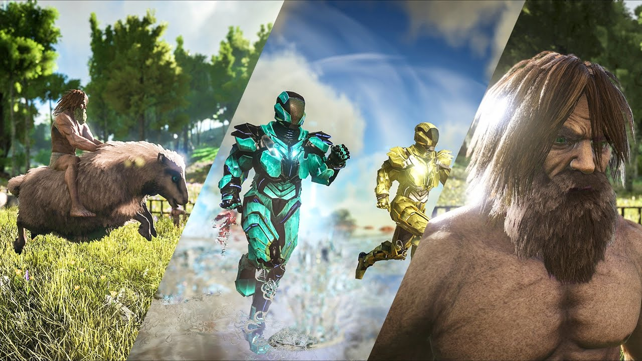 Patch 254: TEK Tier, Purlovia, Baryonyx, Basilosaurus, Ovis, Hair, ARK Sale, and more!