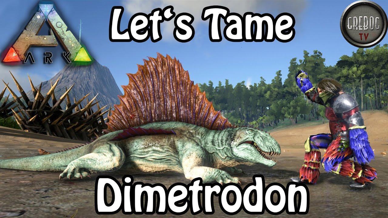 Ark: Survival Evolved - Let's Tame: Dimetrodon (deutsch)