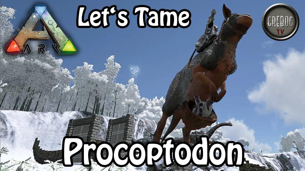 Ark: Survival Evolved - Let's Tame: Procoptodon oder Känguru (deutsch)