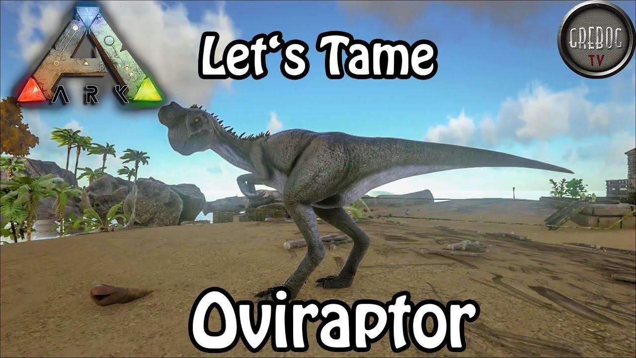 Ark: Survival Evolved - Let's Tame: Oviraptor (deutsch)