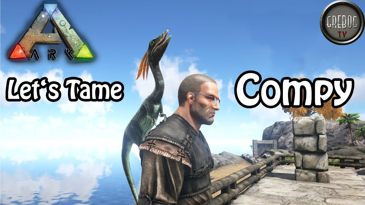 Ark: Survival Evolved - Let's Tame: Compy - Patch 224 (deutsch)