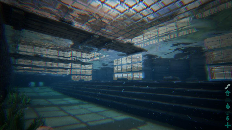 Aquatica Ichthyosaurus Anlegestellen Unterwasser Bilder Ark