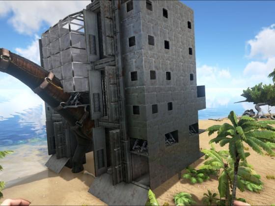 Bronto Festung XXL