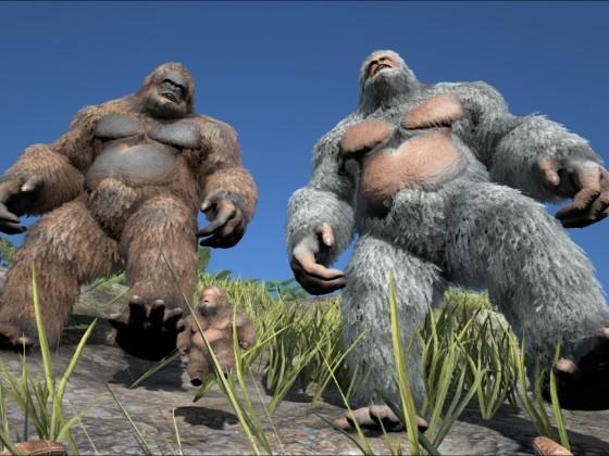 Gigantopithecus Familie