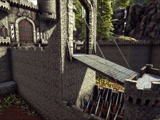 Schloss Zugang