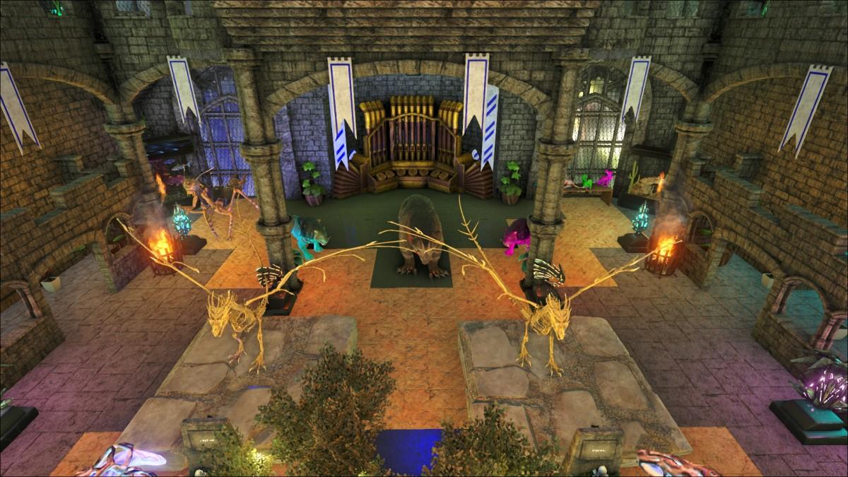 [Jungle Base] Mainhall