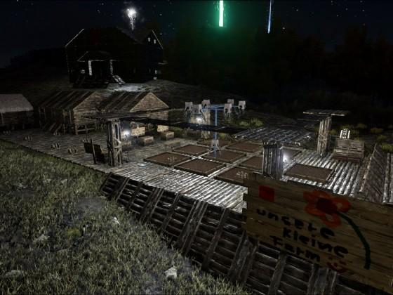 Anbau - Brutbereich und Tribehalle im oberen Campbereich
