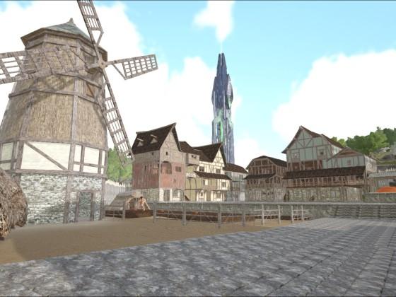 Meine erst Ark Survival Plus Stadt