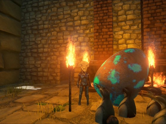 Giganotosaurus Ei wird ausgebrütet!