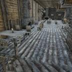 Der grosse Schankraum im Obergeschoss der Taverne zum dampfenden Dodo