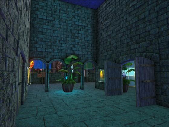 [Jungle Base] Korridor oben
