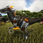 Lvl 323er Tek-Raptor / 100% Perfect Tame (216 Wild - Max Level)