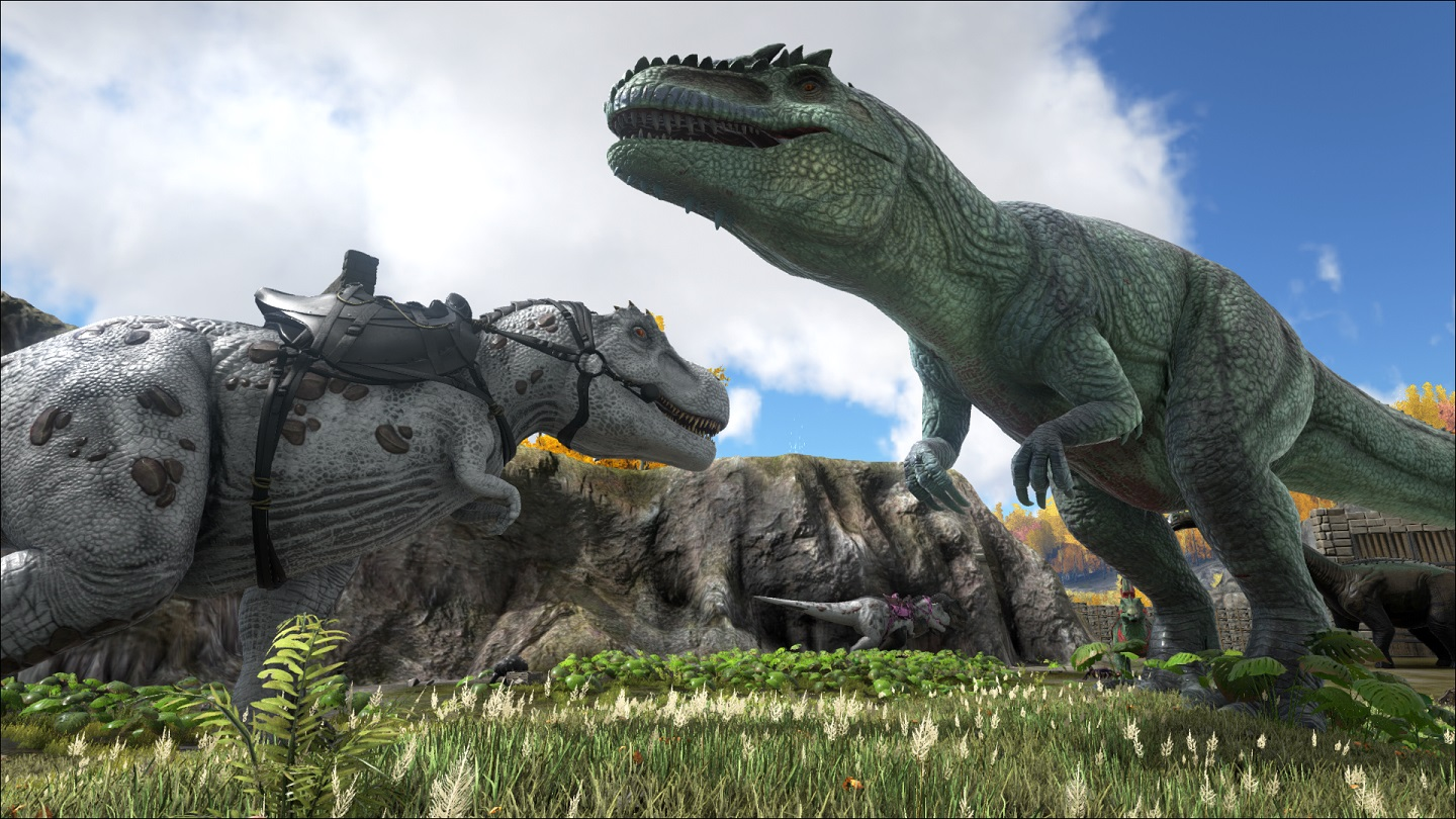 Giganto vs Albino-Rex - Gallery - Ark Survival Evolved ...